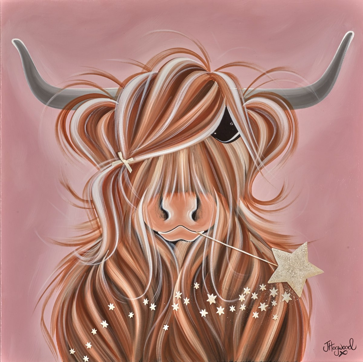 Making a Wish II by jennifer hogwood -  sized 24x24 inches. Available from Whitewall Galleries